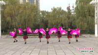 河南省洛阳市嵩县跳出健康金不换舞队广场舞  山里人乐的好潇洒 表演 团队版