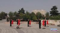 河南遂平舞者团队广场舞 热线你和我 表演 团队版