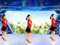 春晖广场舞《在一首歌里爱你》原创舞蹈 正背面口令分解动作教学演示