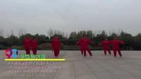 河南平顶山新城区南宋舞蹈队 中国功夫扇 表演 团队版