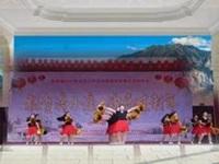 美丽蓥华广场舞《摇咧摇咧》原创花球健身舞 16人变队形