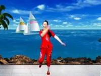香樟树广场舞《好客要数渔家妹》编舞张亚维 附正背面口令分解教学演示