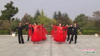 河南省南阳市南召县交谊舞协会舞蹈队广场舞  月亮女神 表演 团队版