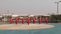 商丘中国梦舞蹈队广场舞 印度舞 表演 团队版