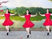 蝴蝶恋人广场舞《开门见喜》原舞蹈 附口令分解动作教学演示