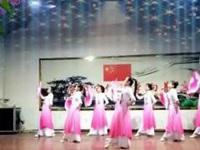 仟玉广场舞《红梅赞》原创舞蹈 表演版