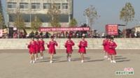 河南省方城县广阳镇白云舞蹈队广场舞  三月三 表演 团队版