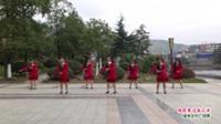 广西桂林灌阳县三联村矮山脚健身队广场舞  情歌赛过春江水 表演 团队版