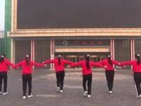 烟台梅英广场舞《路人甲》原创舞蹈 正背面演示