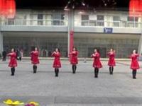 重庆叶子广场舞《恭喜发财新年到》原创舞蹈 正背面口令分解动作教学演示