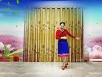 三里舞姿广场舞《火红的萨日朗》原创舞蹈 正背面演示