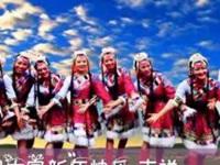 花想容广场舞《吉祥》原创舞蹈 12人变形队