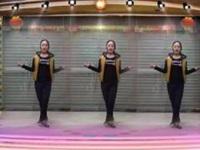 子青广场舞《一晃就老了》原创舞蹈 正背面口令分解动作教学演示