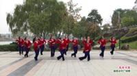 广西桂林灌阳县秀凤纸铺健身队广场舞  花好月圆 表演 团队版