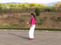 山东清荷广场舞《玫瑰恋情新版》原创舞蹈 附正背面口令分解教学演示