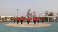 商丘阳光舞蹈队广场舞 这也不对那也不对 表演 团队版