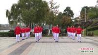 广西桂林市灌阳县城中区江东健身操队广场舞  一生都是好兄弟 表演 团队版