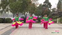 广西桂林市灌阳县新街镇鑫鑫快乐舞队广场舞  珊瑚颂 表演 团队版