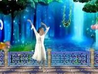 安江燕儿广场舞《天使的翅膀》原创舞蹈 正背面及口令分解