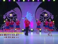北京青松广场舞 敖包情歌唱不完 表演