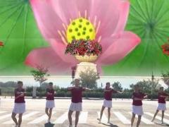 武汉嘉伦舞蹈队《独爱一枝花》编舞沚水 正背面演示