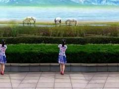 绍兴铃兰广场舞《火火的姑娘》原创16步舞蹈 正背面演示