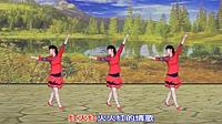 太湖一莲广场舞《红火火》原创舞蹈 附正背面口令分解教学演示