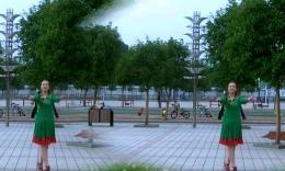 肥矿集团青馨明月广场舞《草原春天美》编舞立华 正背面演示