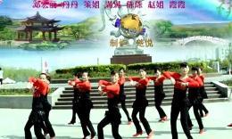 荆州楚悦广场舞 花样年华健身队《小鸡小鸡》原创舞蹈 团队演示