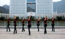 俏木兰广场舞《我的心上人》原创舞蹈 团队演示