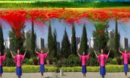 蔻蔻广场舞《美丽中国梦》编舞春英 团队演示