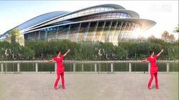 蔻蔻广场舞《摇摆哥》原创健身舞 正背面演示