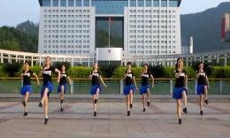 俏木兰广场舞《布吉仙境》原创舞蹈 团队演示
