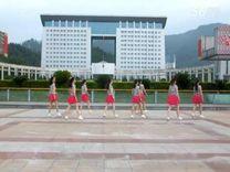 俏木兰广场舞《思绪万千》原创舞蹈 团队演示