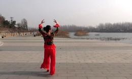 沭河之光广场舞《前世今生的缘》原创舞蹈 附正背面演示分解教学