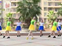 杨丽萍广场舞《梦中的男神》原创舞蹈 简单易学 附正背面口令分解教学演示