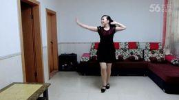 南岸芳芳广场舞《我爱广场舞》原创舞蹈 正背面演示