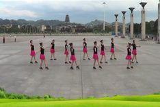 吉美广场舞《再唱等你那么久》原创舞蹈 团队正背面演示