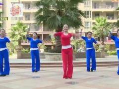 杨丽萍广场舞《星星的约会》原创活力健身操 附正背面口令分解教学演示