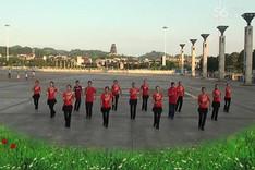 吉美广场舞《你是我的妞》原创舞蹈 团队正背面演示