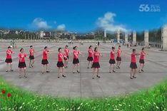 吉美广场舞《爱大了受伤了》原创舞蹈 团队正背面演示