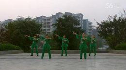 玄滩落叶广场舞《爱之舞》原创舞蹈 团队正背面演示
