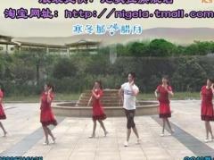 楠楠广场舞《火辣辣的爱》原创舞蹈 附正背面口令分解教学演示