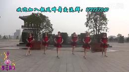 抚州馨子广场舞《芭比娃娃》编舞王梅 团队正背面演示