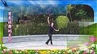 曾惠林广场舞《呼伦贝尔大草原》原创形体舞 正面演示