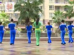 杨丽萍广场舞《因为爱着你》原创步子舞 附正背面口令分解教学演示