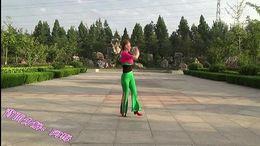 阿梅广场舞《火热的爱》原创舞蹈 正背面教学演示