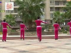 杨丽萍广场舞 《桃花运》原创活力健身操 附正背面口令分解教学演示