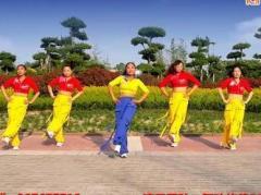舞动旋律2007健身队《康电情歌》编舞心随 附正背面口令分解教学演示
