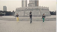 玉全广场舞《Timber》原创舞蹈 团队正背面演示